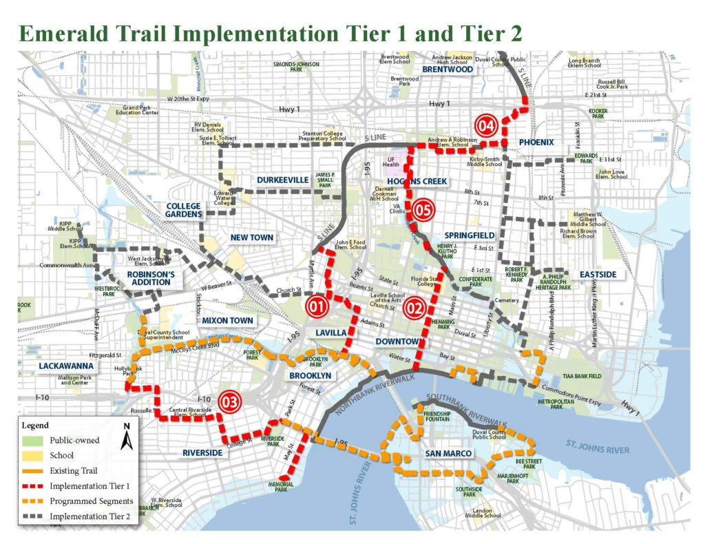 Emerald Trail Master Plan Map